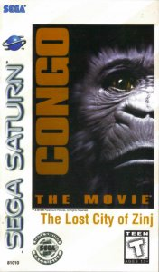 Congo the Movie: The Lost City of Zinj per Sega Saturn