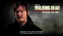 The Walking Dead: Survival Instinct - Trailer con gli attori