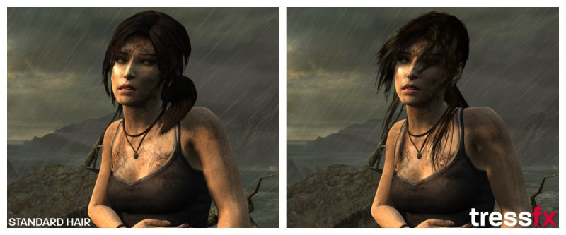 AMD svela l'effetto top secret usato in Tomb Raider
