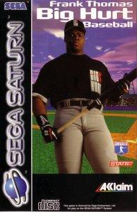 Frank Thomas Big Hurt Baseball per Sega Saturn