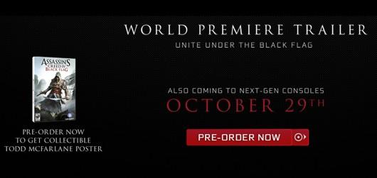Assassin's Creed IV: confermate la data del 29 Ottobre e le versioni next-gen