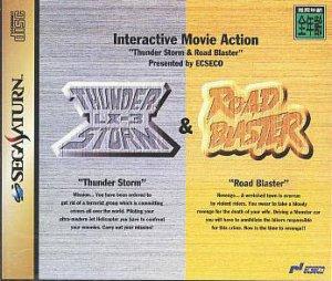 Interactive Movie Action - Thunder Storm LX-3 & Road Blaster per Sega Saturn