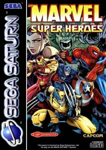 Marvel Super Heroes per Sega Saturn