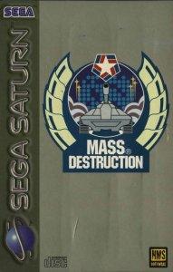 Mass Destruction per Sega Saturn