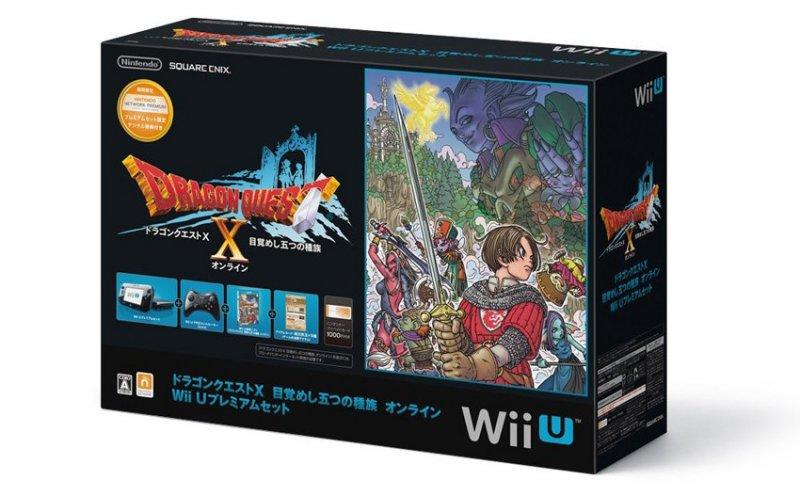 Wii U - Un'immagine per l'edizione speciale del bundle con Dragon Quest X