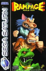 Rampage World Tour per Sega Saturn