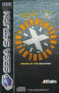Revolution X per Sega Saturn