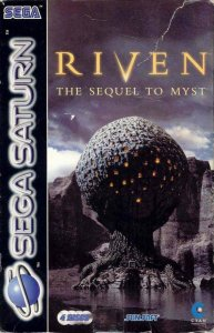 Riven: The Sequel to Myst per Sega Saturn