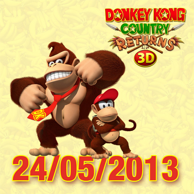 Donkey Kong Country Returns 3D in Europa a maggio