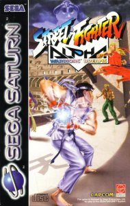Street Fighter Alpha per Sega Saturn