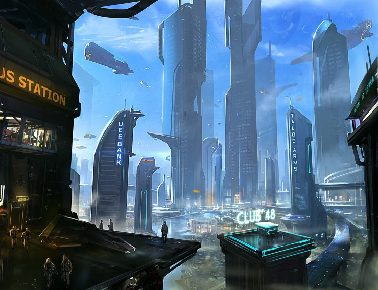 Star Citizen - Svelata l'ambientazione Terra