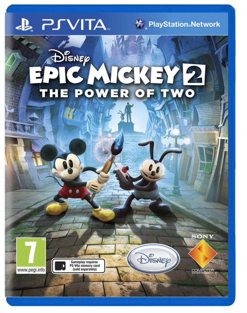 Epic Mickey 2 arriva su PlayStation Vita
