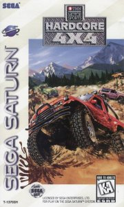 TNN Motor Sports Hardcore 4x4 per Sega Saturn