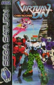 Virtual On: Cyber Troopers per Sega Saturn