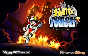Mighty Switch Force! 2 per Nintendo 3DS