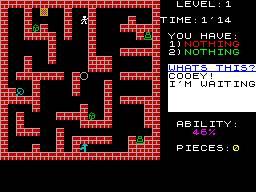 Advent per Sinclair ZX Spectrum