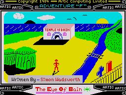Adventure F: The Eye Of Bain per Sinclair ZX Spectrum