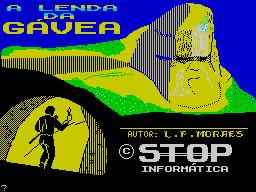 A Lenda da Gávea per Sinclair ZX Spectrum