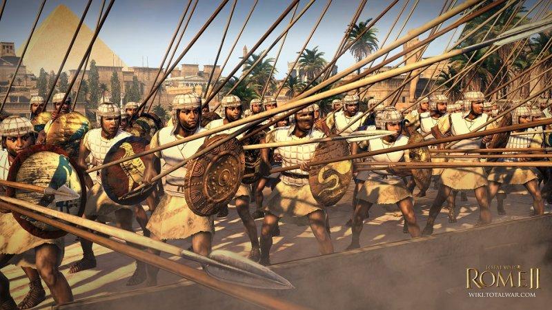 Total War: Rome II - Ecco gli Egiziani