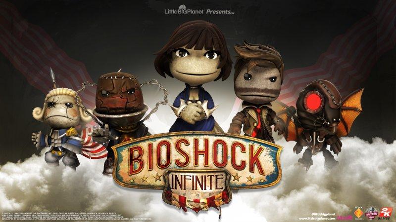 LittleBigPlanet - Arrivano i costumi di BioShock Infinite