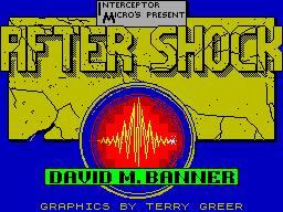 After Shock per Sinclair ZX Spectrum
