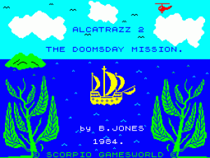 Alcatraz Harry 2: The Doomsday Mission per Sinclair ZX Spectrum