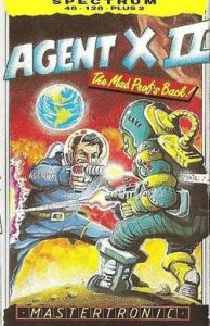 Agent X II: The Mad Prof's Back! per Sinclair ZX Spectrum