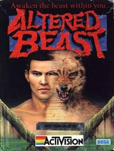 Altered Beast per Sinclair ZX Spectrum
