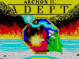 Archon II: Adept per Sinclair ZX Spectrum
