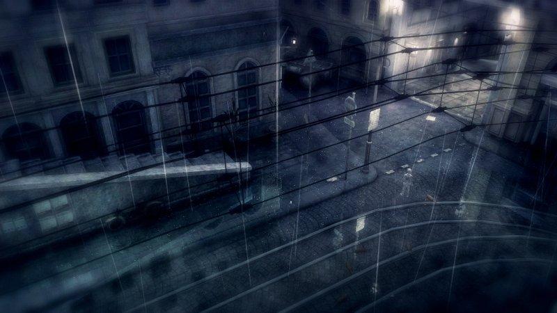 L'invisibile dietro la pioggia