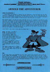 Arnold the Adventurer II per Sinclair ZX Spectrum