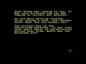 Aunt Velma's Coming to Tea per Sinclair ZX Spectrum