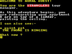 Aural Quest per Sinclair ZX Spectrum