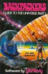 Backpackers: Guide to the Universe per Sinclair ZX Spectrum