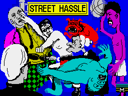 Bad Street Brawler per Sinclair ZX Spectrum