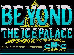 Beyond the Ice Palace per Sinclair ZX Spectrum