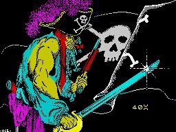 Black Beard per Sinclair ZX Spectrum