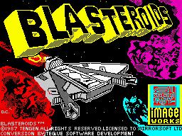 Blasteroids per Sinclair ZX Spectrum