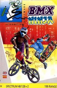 BMX Ninja per Sinclair ZX Spectrum