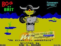 Bog of Brit per Sinclair ZX Spectrum