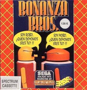 Bonanza Bros per Sinclair ZX Spectrum