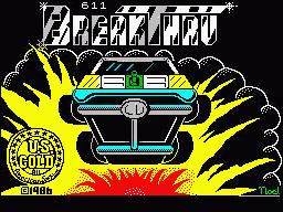 BreakThru per Sinclair ZX Spectrum