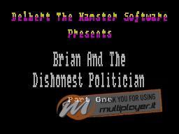 Brian and the Dishonest Politician per Sinclair ZX Spectrum