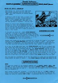 Brian: The Novice Barbarian per Sinclair ZX Spectrum