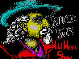 Buffalo Bill's Wild West Show per Sinclair ZX Spectrum