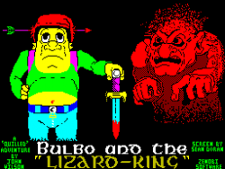 Bulbo and the Lizard-King per Sinclair ZX Spectrum