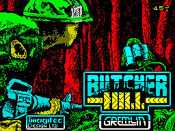 Butcher Hill per Sinclair ZX Spectrum