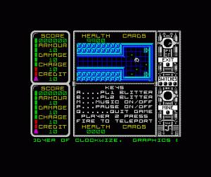 Captain Fizz Meets the Blaster-Trons per Sinclair ZX Spectrum
