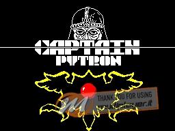 Captain Pytron per Sinclair ZX Spectrum