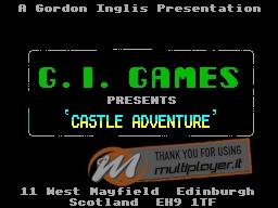 Castle Adventure per Sinclair ZX Spectrum
